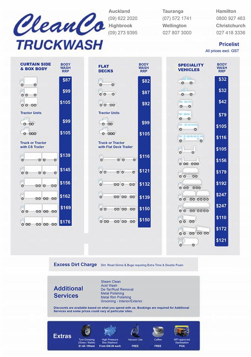cleanco-truckwash-pricelist-2
